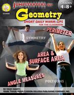Jumpstarters for Geometry by Mark Twain Media