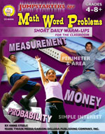 Jumpstarters for Math Word Problems by Mark Twain Media