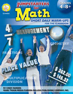 Jumpstarters for Math by Mark Twain Media