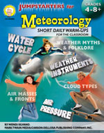 Jumpstarters for Meteorology by Mark Twain Media