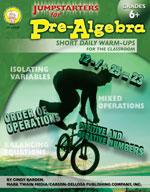 Jumpstarters for Pre-Algebra by Mark Twain Media
