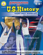 Jumpstarters for U.S. History by Mark Twain Media
