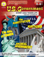 Jumpstarters for US Government by Mark Twain Media