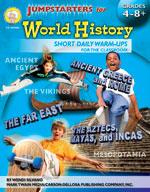 Jumpstarters for World History by Mark Twain Media
