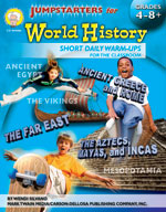 Jumpstarters for World History by Mark Twain Media