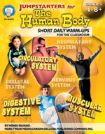 Jumpstarters for the Human Body by Mark Twain Media