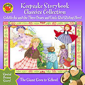 Keepsake Storybook Classics Collection, Goldilocks and the Three Bears and Little Red Riding Hood (eBook)