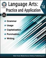 Language Arts: Practice And Application, Grades 7 - 8