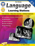 Language Learning Stations by Mark Twain Media