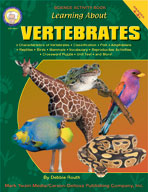 Learning About Vertebrates by Mark Twain Media