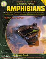 Learning about Amphibians by Mark Twain Media