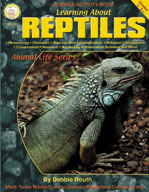 Learning about Reptiles by Mark Twain Media