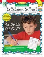 Let's Learn to Print: Modern Manuscript