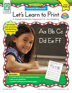 Let's Learn to Print: Traditional Manuscript