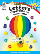 Letters: Uppercase And Lowercase, Grades Pk - K (ebook)