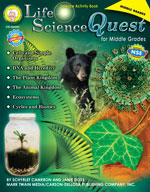 Life Science Quest for Middle Grades by Mark Twain Media