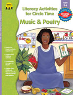 Literacy Act. for Circle Time: Music and Poetry, PK-K