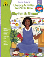 Literacy Act. for Circle Time: Rhythm and Rhyme, PK-K