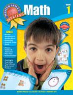 Master Skills Math, Grade 1