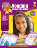 Master Skills Reading Comprehension, Grade 4