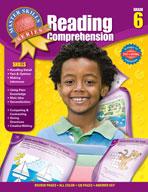 Master Skills Reading Comprehension, Grade 6