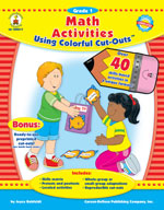 Math Activities with Cut-Outs, Grade 1