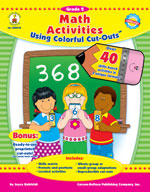 Math Activities with Cut-Outs, Grade 2