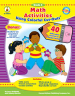 Math Activities with Cut-Outs, Grade 3