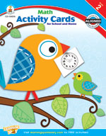 Math Activity Cards for School and Home, Grade 2