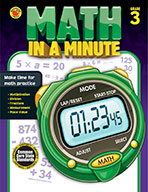 Math In A Minute Grade 3