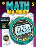 Math In A Minute Grade 5