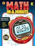Math In A Minute Grade K