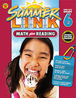 Math Plus Reading, Summer Before Grade 6 (ebook)