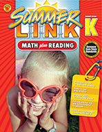 Math Plus Reading, Summer Before K (ebook)