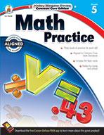 Math Practice, Grade 5 (eBook)