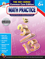Math Practice, Grades 6 - 8 (ebook)