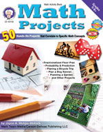 Math Projects by Mark Twain Media