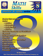 Math Skills: Grade 8 by Mark Twain Media
