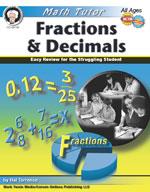 Math Tutor: Fractions and Decimals by Mark Twain Media