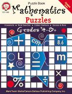 Mathematics Puzzles, Grades 4 - 8+