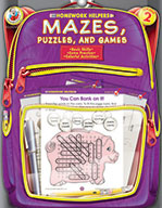 Mazes, Puzzles, And Games, Grade 2