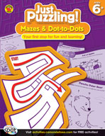 Mazes and Dot-to-Dots, Grades 1-3