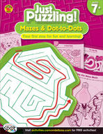 Mazes and Dot-to-Dots, Grades 2-4