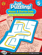 Mazes and Dot-to-Dots, Grades K-1