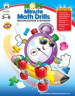 More Minute Math Drills, Grades 3-6