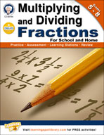 Multiplying and Dividing Fractions by Mark Twain Media