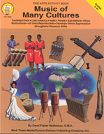 Music of Many Cultures by Mark Twain Media