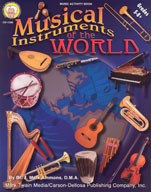 Musical Instruments of the World by Mark Twain Media