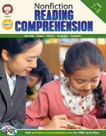 Nonfiction Reading Comprehension: Grades 7-8 by Mark Twain Media