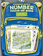 Number Puzzles And Games, Grades K - 1 (ebook)